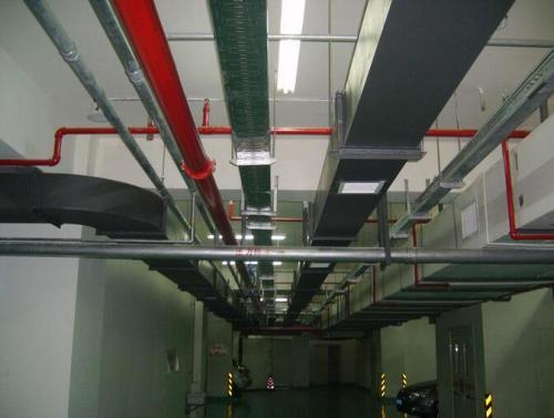 房产电缆桥架施工案例图